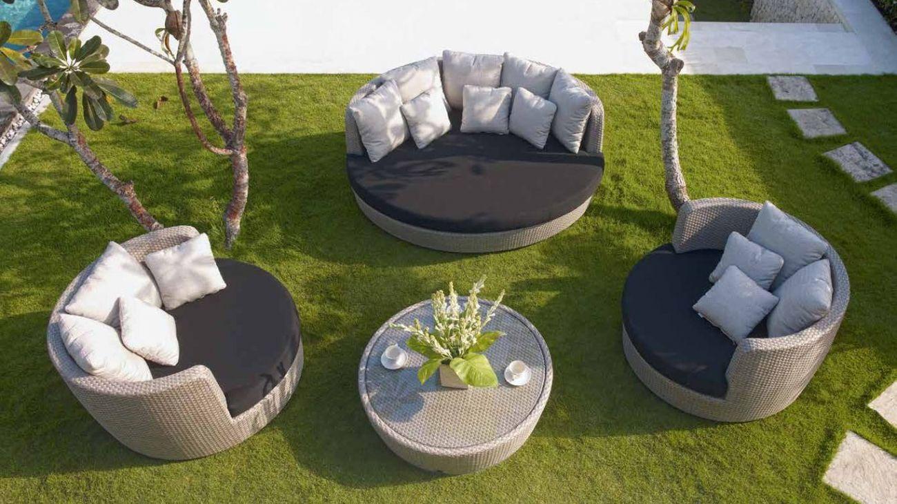 Sof s zest ao melhor pre o na gra a interiores sof s jardim for Sofa exterior jardim