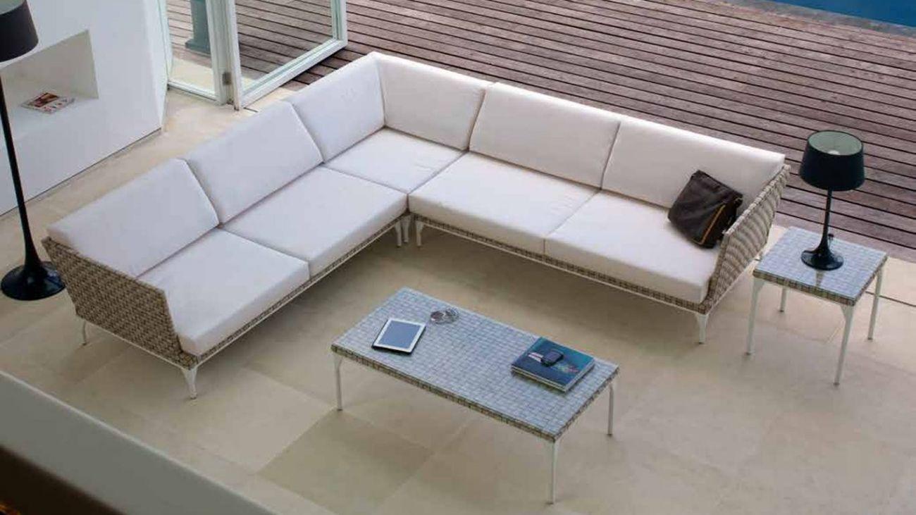 Sof canto brafta ao melhor pre o na gra a interiores for Sofa exterior jardim