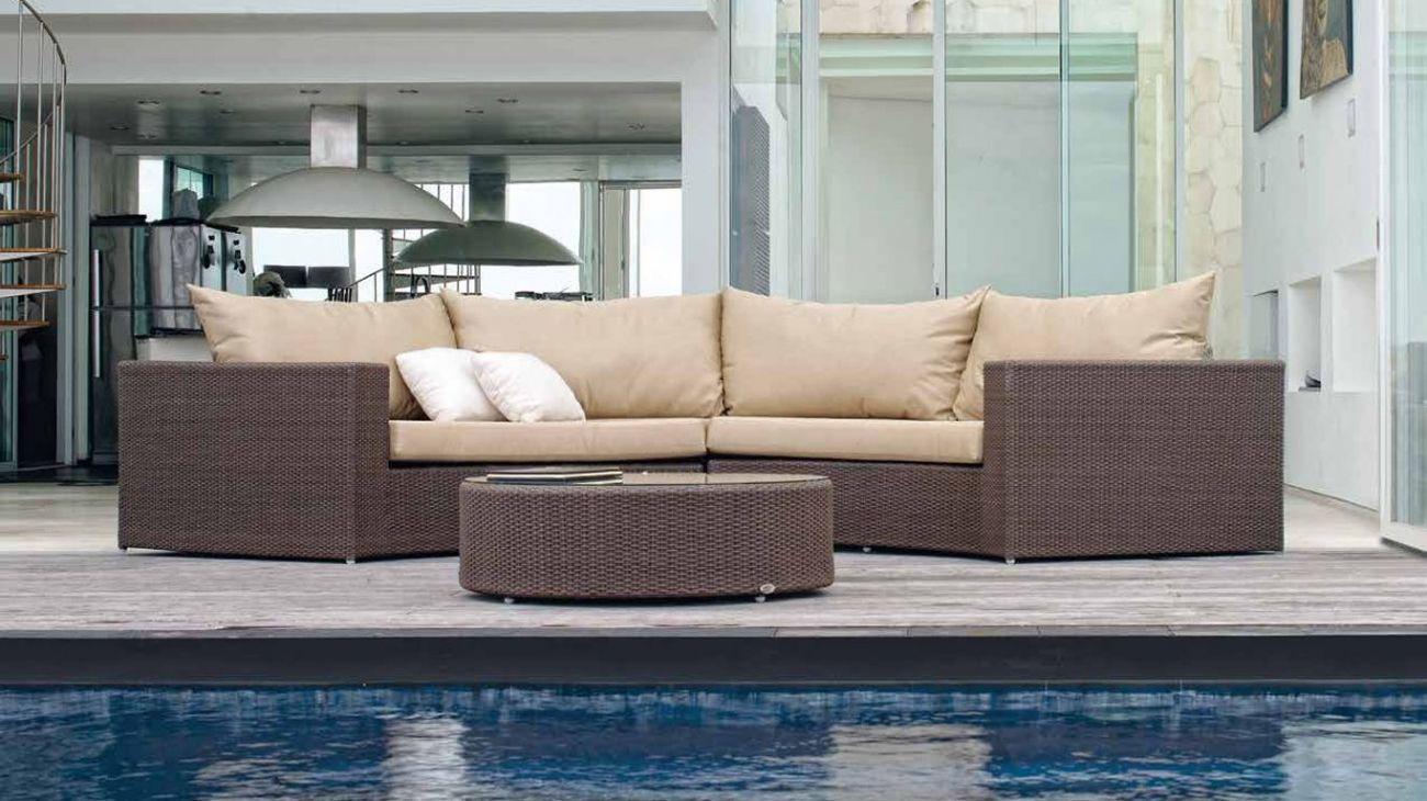 Sof s malay ao melhor pre o na gra a interiores sof s jardim for Sofa exterior jardim