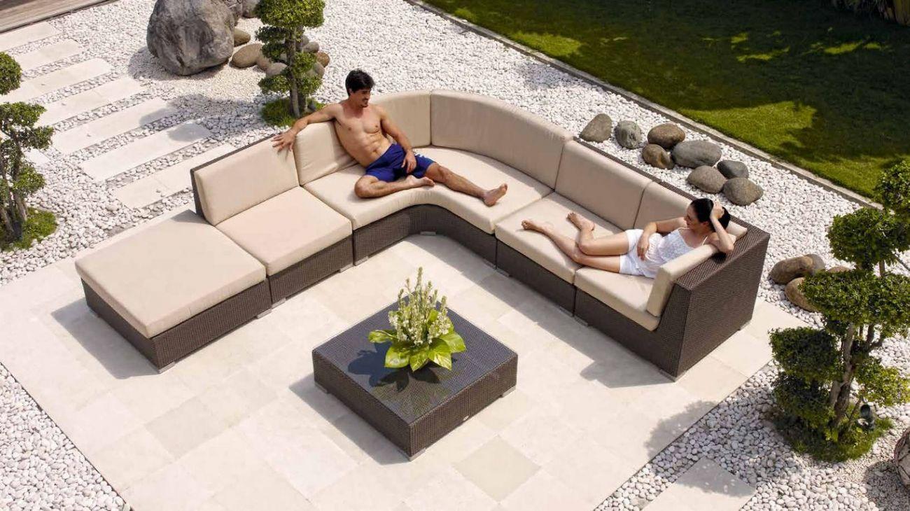 Sof s pacific m2 ao melhor pre o na gra a interiores for Sofa exterior jardim