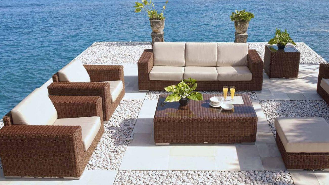 Sof s cuatro iii ao melhor pre o na gra a interiores for Sofa exterior jardim