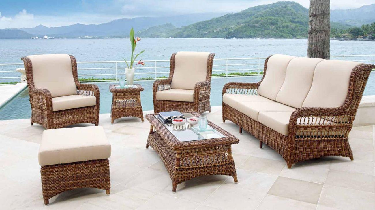 Sof s ebony ao melhor pre o na gra a interiores sof s jardim for Sofa exterior jardim