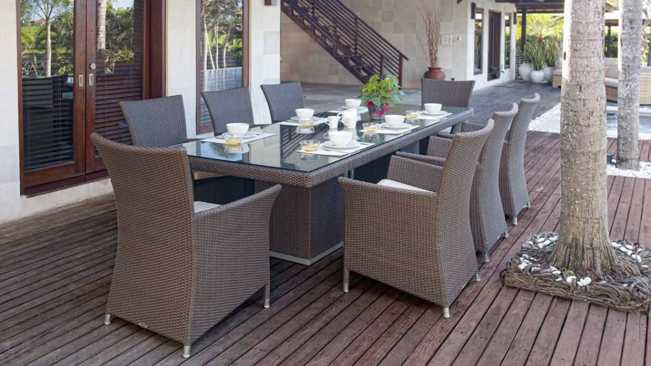 mesa para jardim de vidro ? Doitri.com