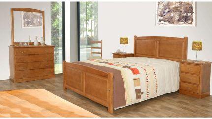 Quarto completo r stico moveis e decora o de interiores for Mobilia quarto casal custojusto