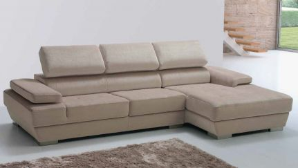 Sof dado chaise ao melhor pre o na gra a interiores for Chaise longue interiores
