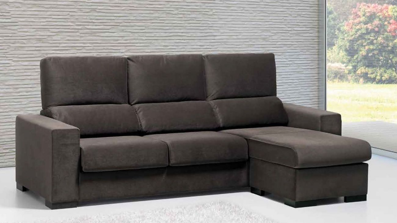 Sof raquel chaise ao melhor pre o na gra a interiores for Chaise longue interiores