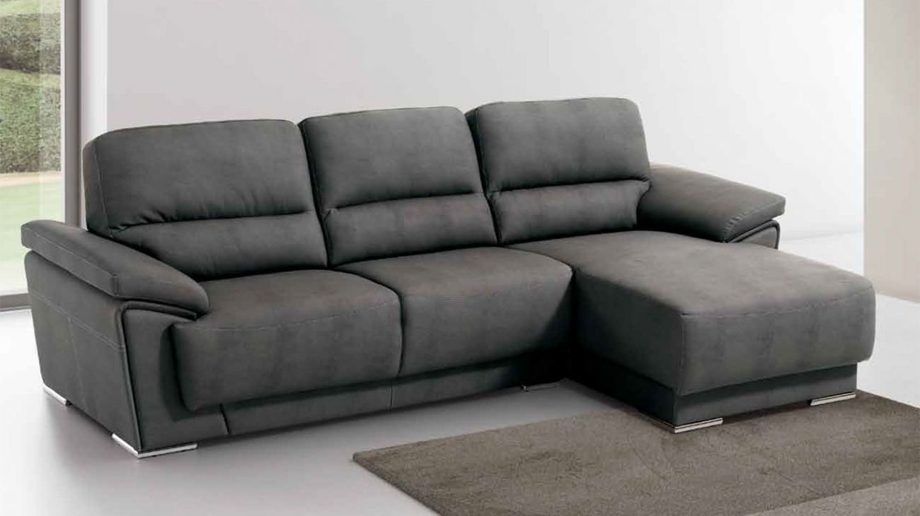 Sof zarco chaise ao melhor pre o na gra a interiores for Sofa chester chaise longue