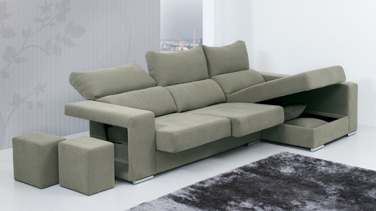 Sof luna chaise ao melhor pre o na gra a interiores for Chaise longue interiores