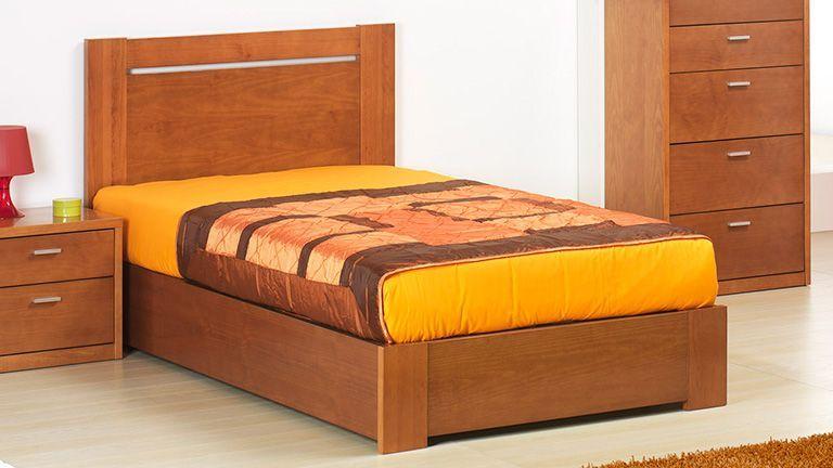 Cama individual ncora ao melhor pre o na gra a interiores camas juvenis e de crian a com - Cama individual juvenil ...