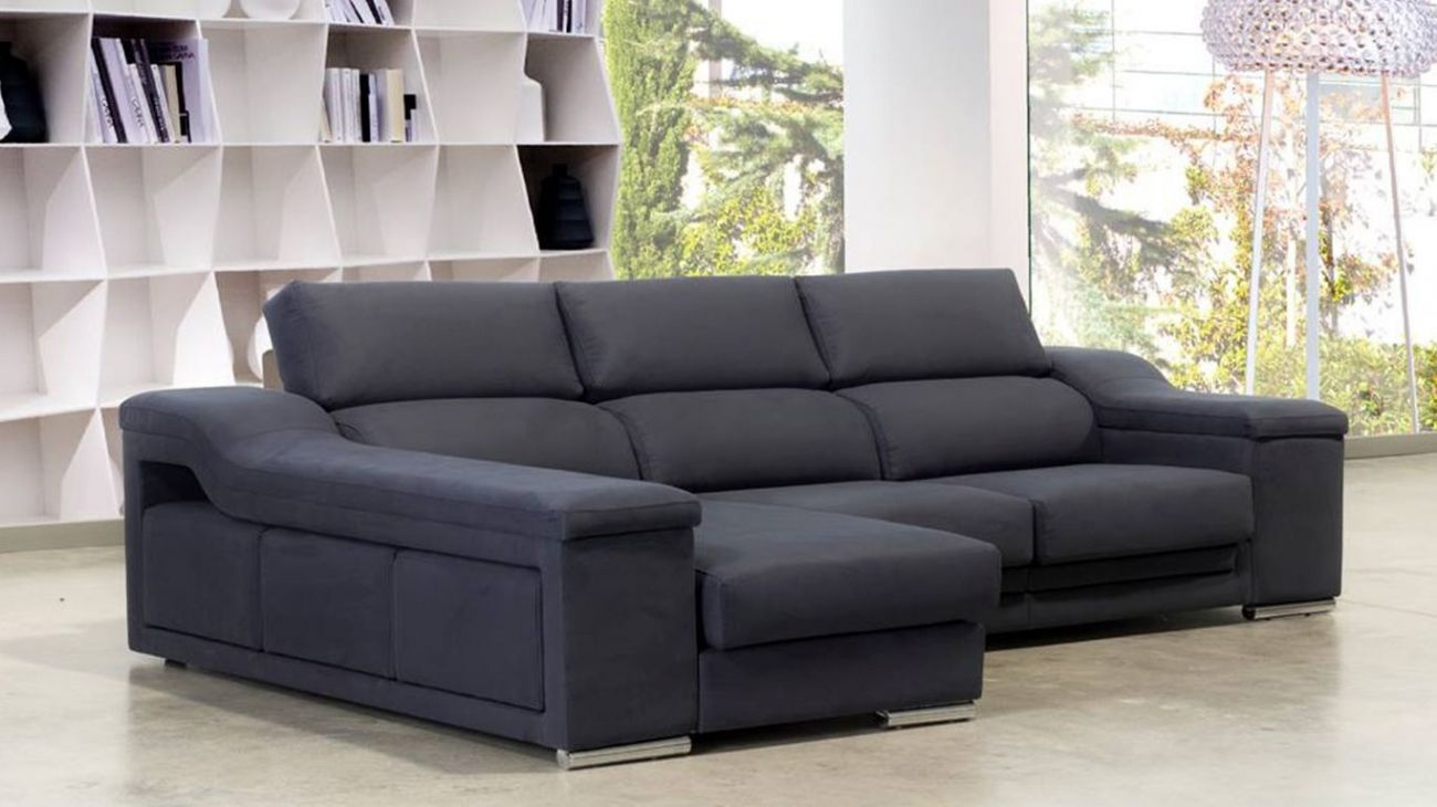 Sof chaise tokyo ao melhor pre o na gra a interiores for Sofa chester chaise longue