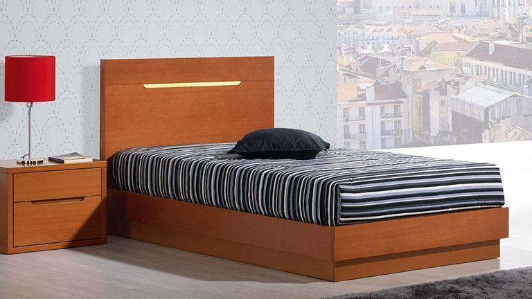 Cama individual viena cinza branca ao melhor pre o na gra a interiores camas juvenis e de - Cama individual juvenil ...