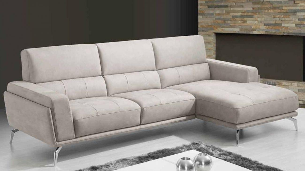 Sof megan chaise ao melhor pre o na gra a interiores for Chaise longue interiores