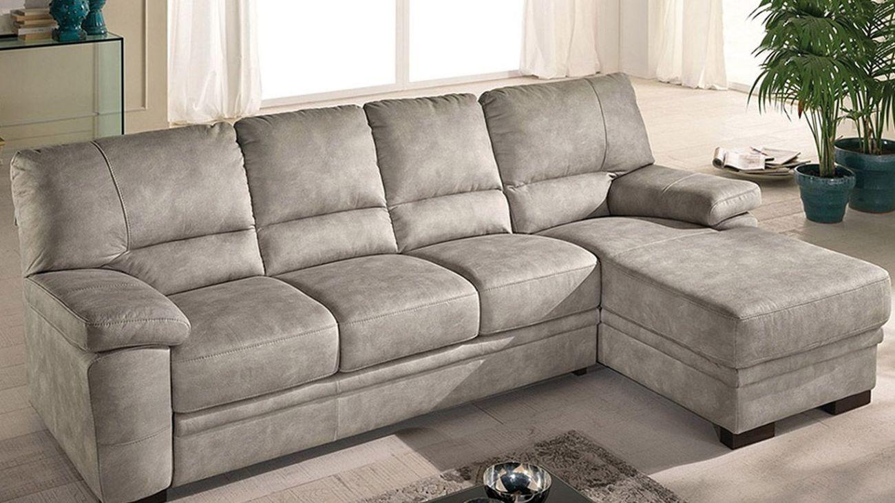 Sofa chaise longue silvio c cama ao melhor pre o na gra a interiores sof s de canto - Chaise longue medidas ...