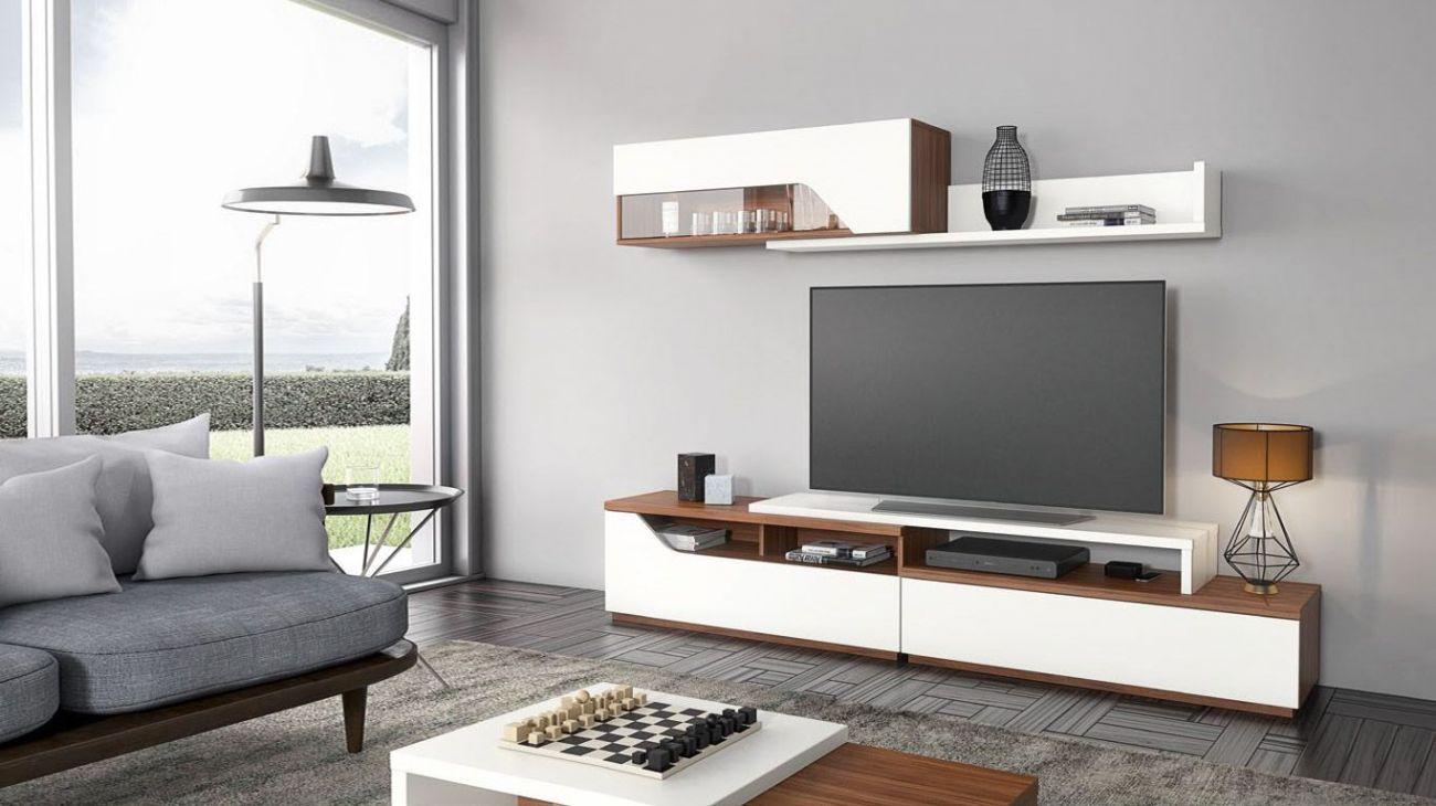 Estante tv cr11 ao melhor pre o na gra a interiores - Estantes para interior ducha ...