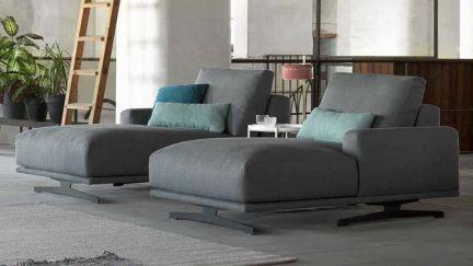 Sof siena c chaise ao melhor pre o na gra a interiores for Chaise longue interiores