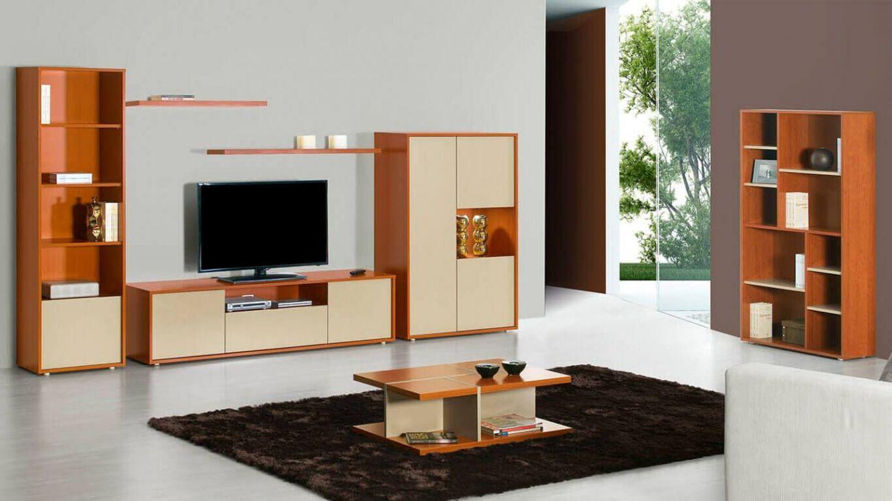 Sala De Estar Milan I Ao Melhor Pre O Na Gra A Interiores Estantes  -> Imagem De Estante Para Sala