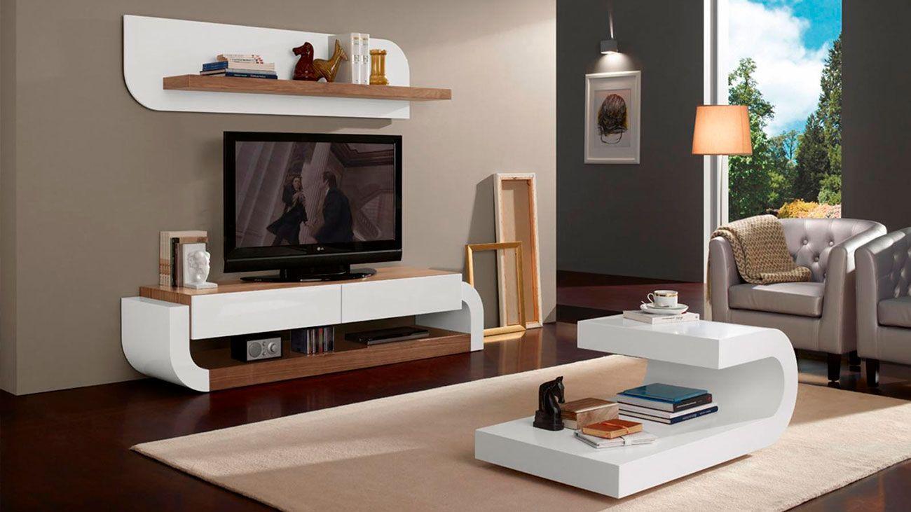 Sala Estar Gabrielle 01, modulo tv