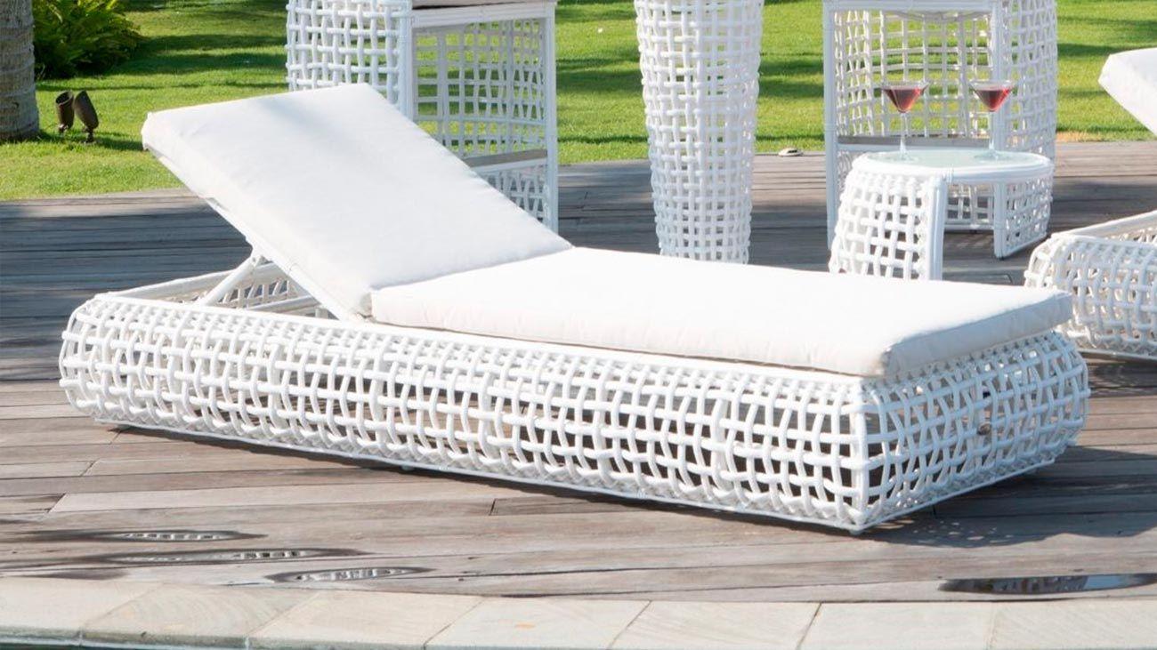 Espreguiçadeira Dynasty, Relaxar no Exterior Graca Interiores