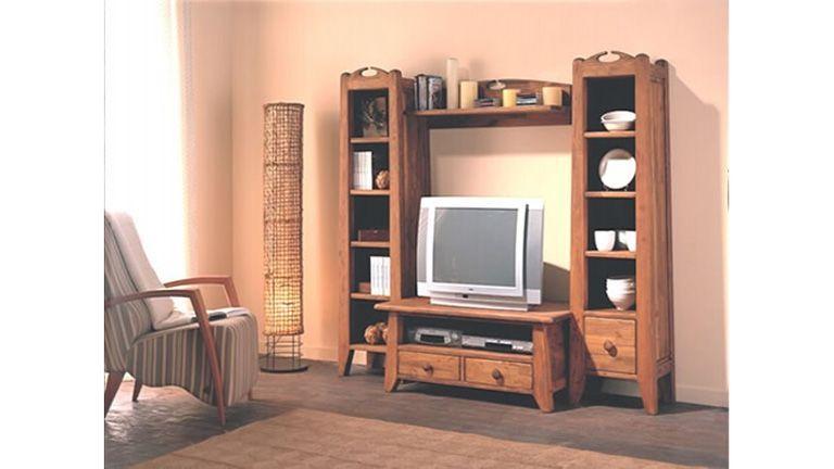Composição TV Ducampo, Estantes de TV Rusticas Graca Interiores