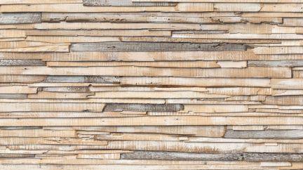 Poster Whitewashed Wood