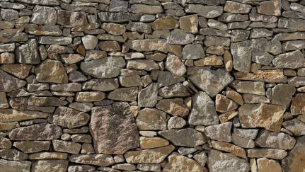 Poster Stone Wall