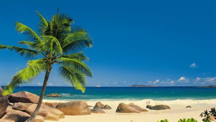 Poster Seychellen