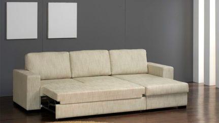 Sofá Chaise c/Cama, Sofa Cama Graca Interiores