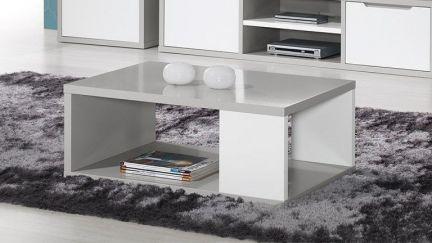 Mesa de Centro Viena Cinza/ Branco