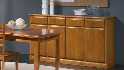 Aparador Pine, Sala de Jantar Rustica Graca Interiores