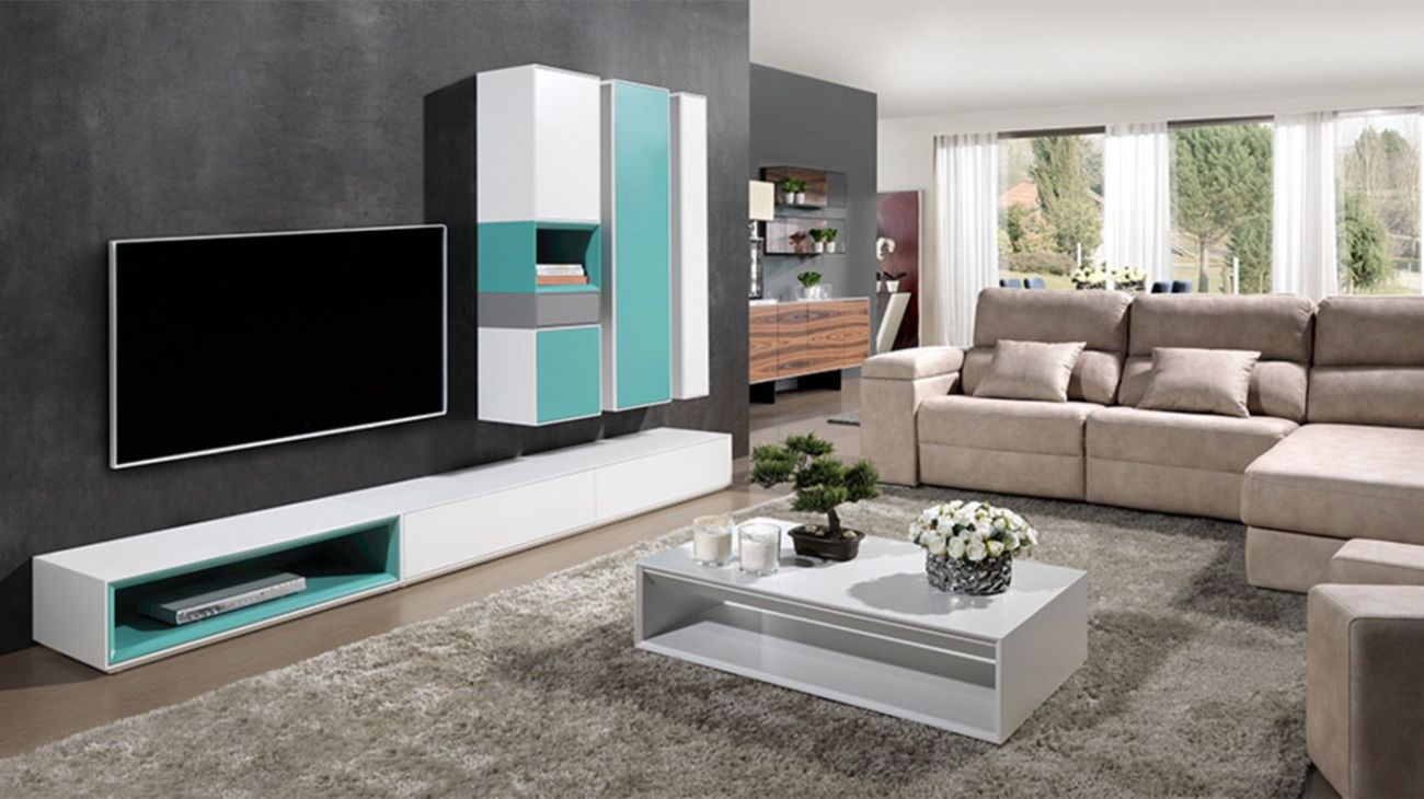 Sala de Estar Pure, modulo tv