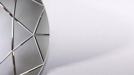 Espelho Round Diamond, Espelhos Decorativos