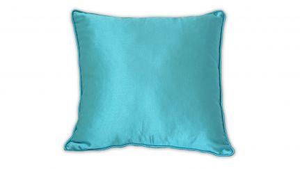 Almofada Acetinada Azul