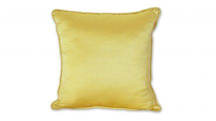 Almofada Acetinada Amarela