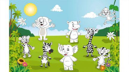 Poster Happy Animals