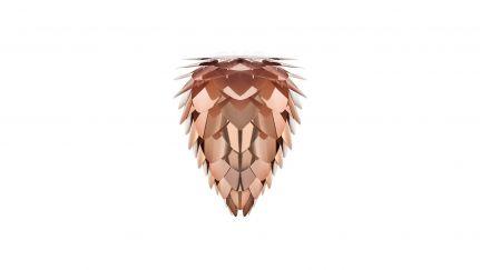 Candeeiro Conia Mini Copper, candeeiro de pé