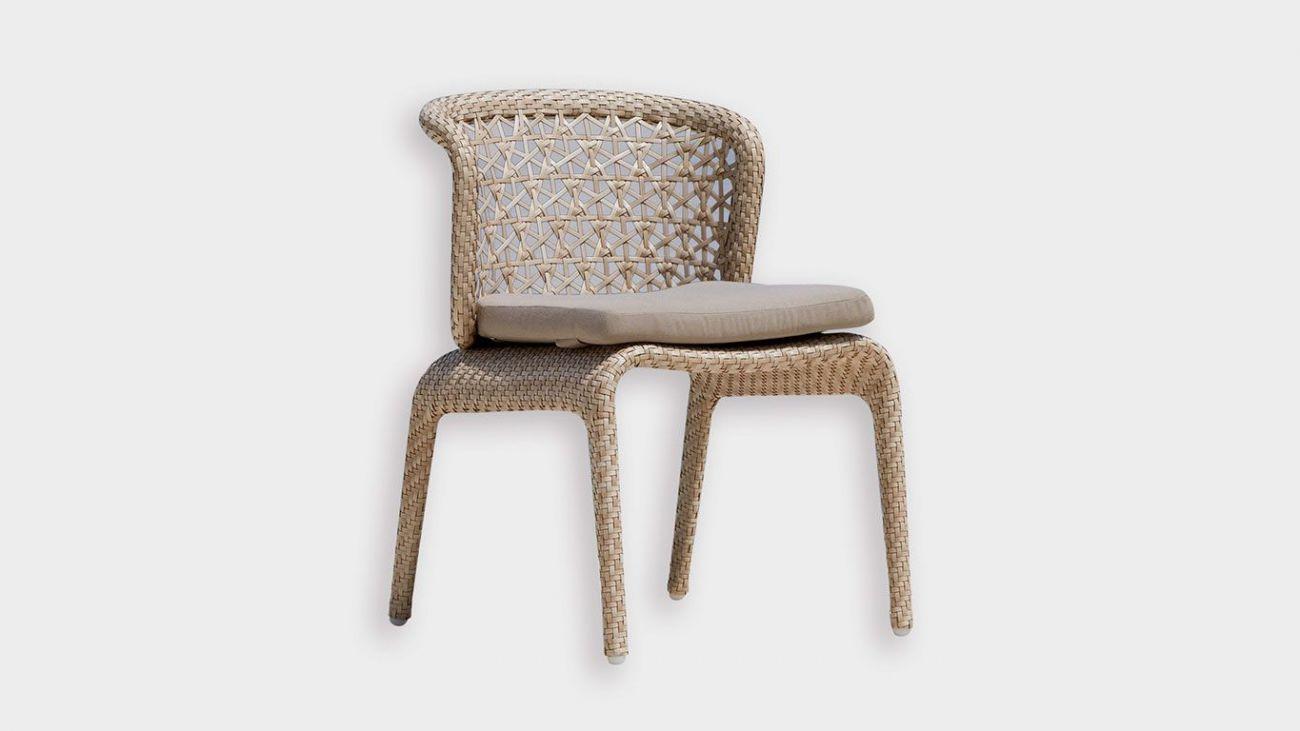 Cadeira Journey, Mesas de Jardim, feito à mão na indonésia. Resistente à abrasão altomsférica. Melhor qualidade existente para produtos de exterior. Mobiliário de Jardim de Luxo. Luxury Outdoor Furniture