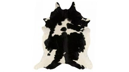 Tapete Rodeo Cowhide Preto