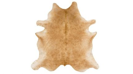 Tapete Rodeo Cowhide Solid Bege