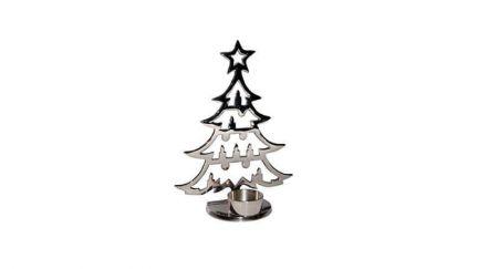 Porta-Velas Árvore de Natal