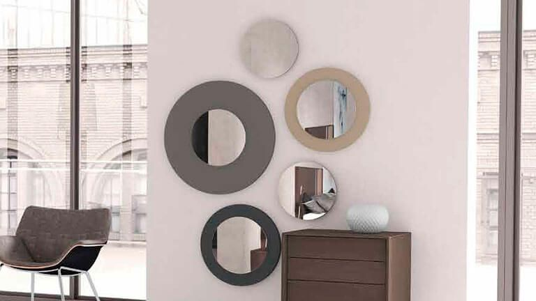 Conjunto de Espelhos D517, Espelhos de Quartos Graça Interiores