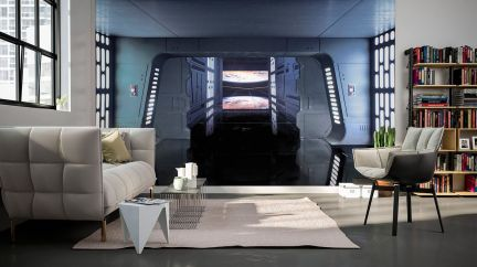 Poster Star Wars Death Star Floor