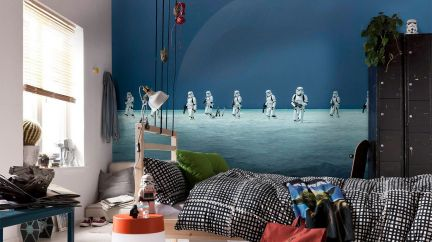 Poster Star Wars Scarif Beach