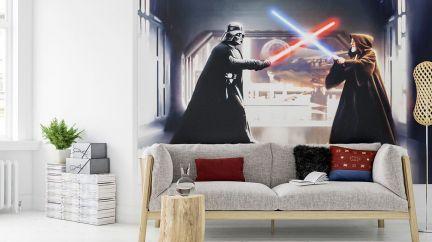 Poster Star Wars Vader vs. Kenobi