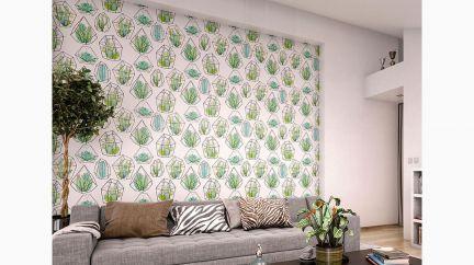 Poster Cactus Terrarium