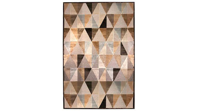 Tapete Provence Triângulos, Tapetes Modernos Graça Interiores