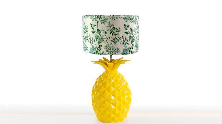 Candeeiro Pineapple Amarelo, Candeeiros de Mesa Graca Interiores