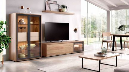 Estante TV Duo 05, modulo tv