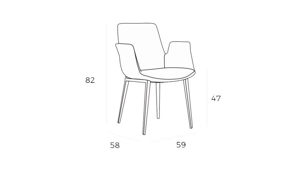 Cadeira Aurora, Cadeiras Graca Interiores