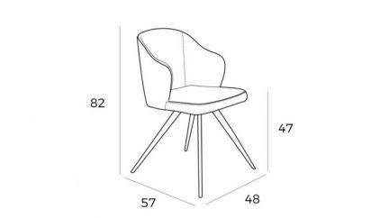 Cadeira Afrodite, Cadeiras Graca Interiores