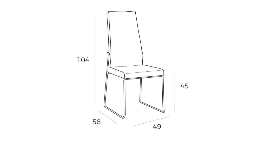 Cadeira Sudie, Cadeiras Graca Interiores